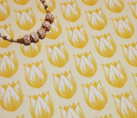 Doodle Tulip (Yellows)