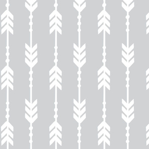 gray arrow design