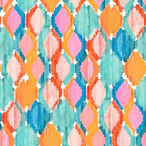 Marmalade rhombus ikat