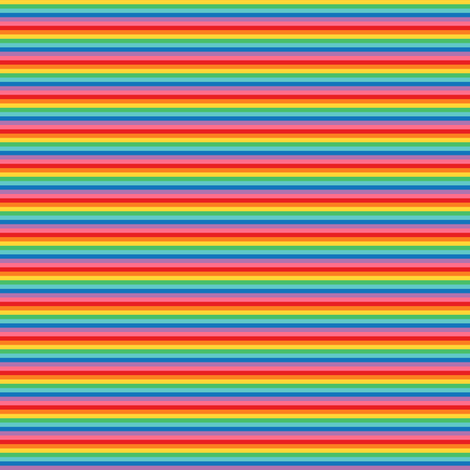 ultra tiny rainbow stripes 2 fabric by misstiina on Spoonflower - custom fabric
