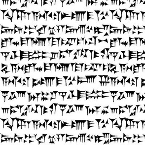 Babylonian Cuneiform // Small