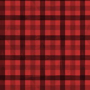 redplaidpattern