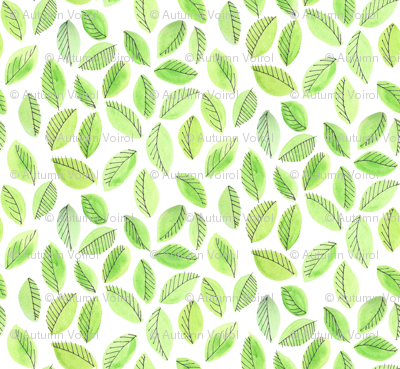 Greenery Leaves by autumnvdesigns
