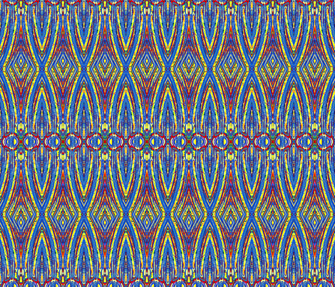 Cathedral Lights fabric by robin_rice on Spoonflower - custom fabric