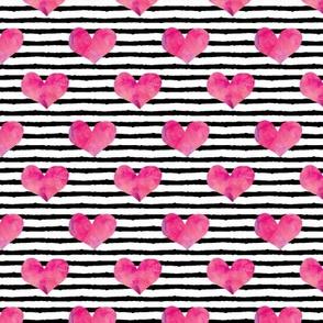 "watercolor hearts (1""scale)    stripes"