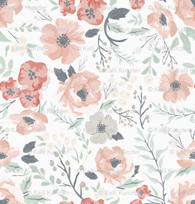 Soft Meadow Floral