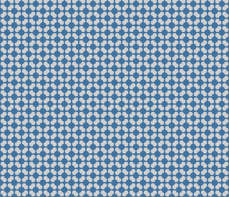 Blue & Grey Chain Print fabric by blue_dog_decorating on Spoonflower - custom fabric
