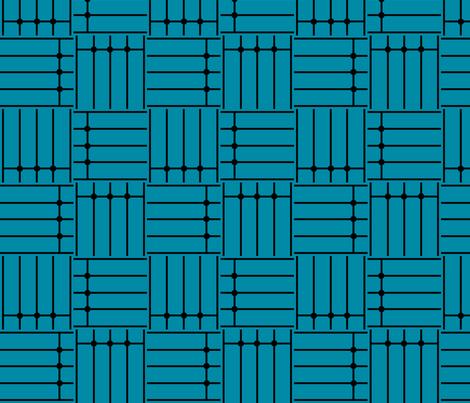 Art Deco Basket Weave fabric by blue_dog_decorating on Spoonflower - custom fabric