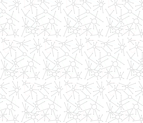 Atomic in White fabric by blue_dog_decorating on Spoonflower - custom fabric