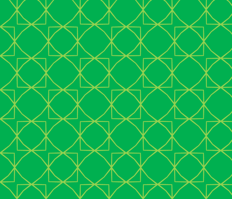 Climbing Trellis in Green fabric by blue_dog_decorating on Spoonflower - custom fabric