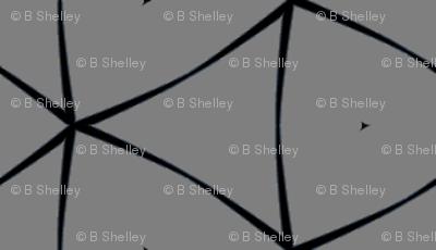 Triangle in Grey & Black