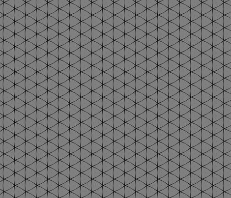 Triangle in Grey & Black fabric by blue_dog_decorating on Spoonflower - custom fabric