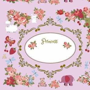 Pillow Cover for Princess