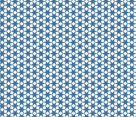 Squares Dance in Blue & White fabric by blue_dog_decorating on Spoonflower - custom fabric