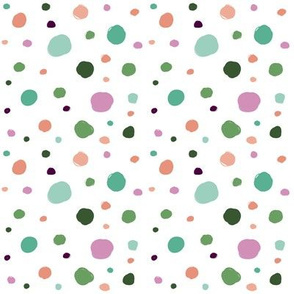 Scattered Doodle Dots