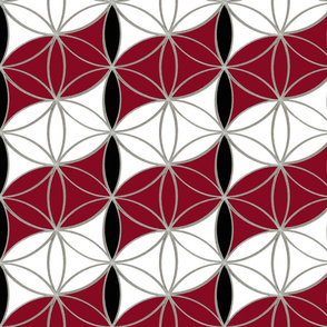 Flower_of_Life_Red_and_White_Pattern