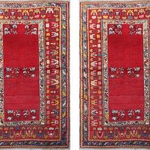 antique_turkish_mujur_rug