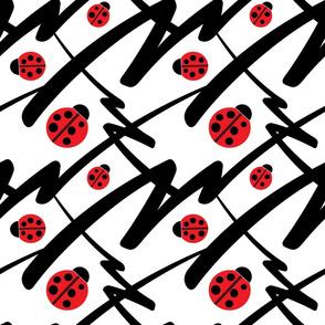 Bold Print Ladybug