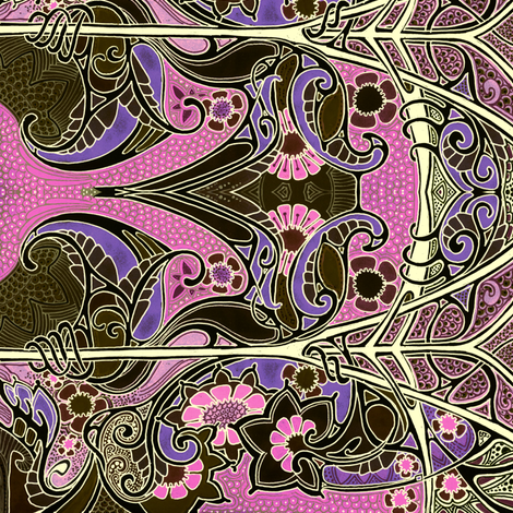 Where the Dragons Hide fabric by edsel2084 on Spoonflower - custom fabric