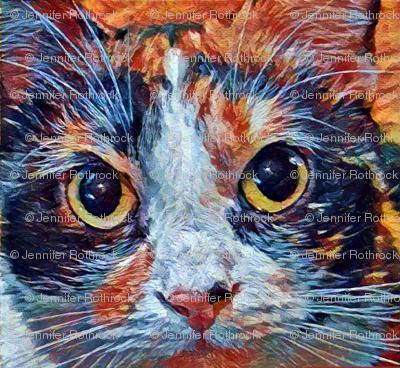 Carmilla Calico Cat