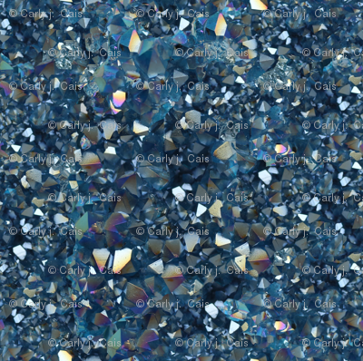 Stones // Aqua Aurora Quartz Crystal