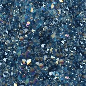 Stones // Aqua Aura Quartz Crystal