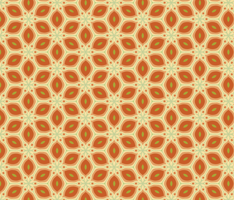 fractaltilesbrownhalley6 fabric by et_al on Spoonflower - custom fabric