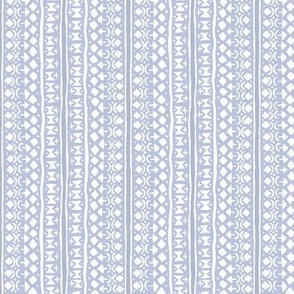 Ditsy Tribal Stripe Light Lavender