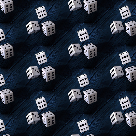 dice fabric by stofftoy on Spoonflower - custom fabric