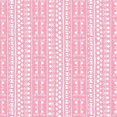 Tribal Fabric Patterns Pink