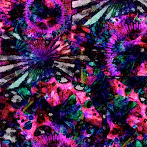 Scatter Fuchsia