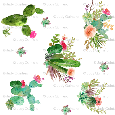 Western Flowers - 90 degrees