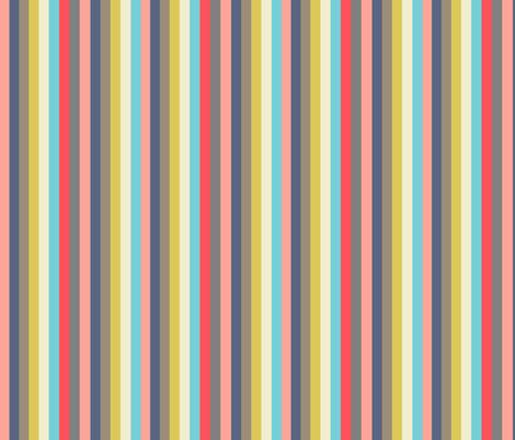 Rainbow Stripes fabric by kaoru_sanchez on Spoonflower - custom fabric