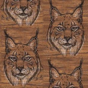 Hickory Iberian Lynx