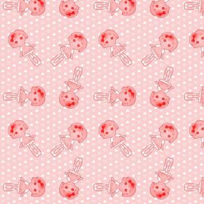 lalaloopsy strawberry crumbs ditsy