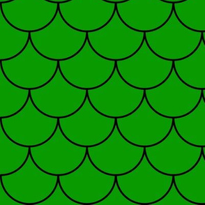 Green Mermaid Scales