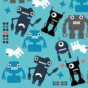 blue-robots
