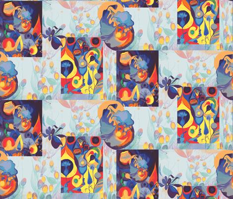 Gallerie-ch fabric by ruthjohanna on Spoonflower - custom fabric