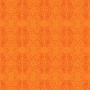 Hei orange on orange small