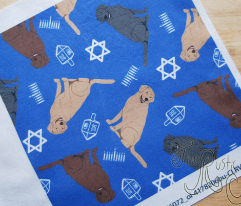 Tiny Labrador Retrievers - Hanukkah