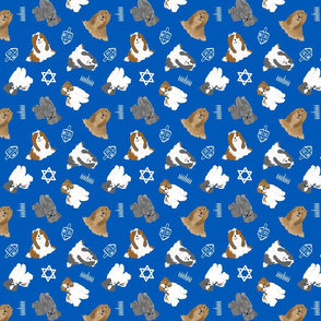 Tiny Shih Tzus - Hanukkah
