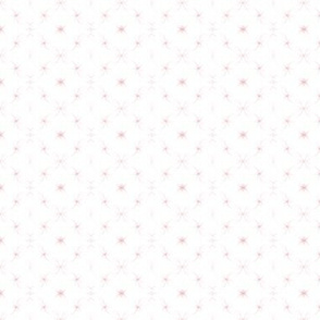 Mirrored Pink Flourishes - Small