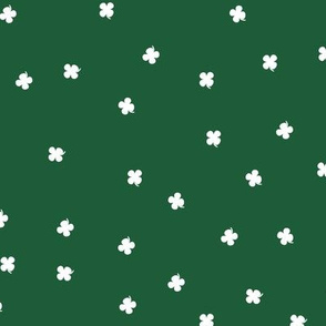 Clover Dots - Green & White