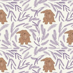 Baby rabbit pattern 01