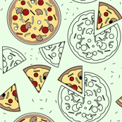 Pizza with Slices