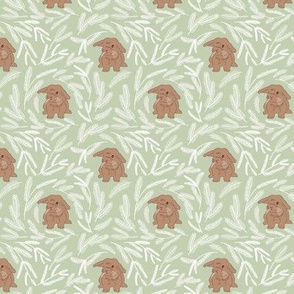 Baby rabbit pattern 04
