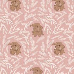 Baby rabbit pattern 05