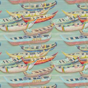 Ghana Fishing Boats