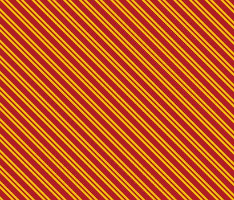 Magic School Inspired Gryffin Lion Diagonal Double Stripes fabric by designedbygeeks on Spoonflower - custom fabric