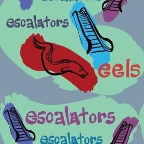 Sponge Escalators Eeels Patrick Sea
